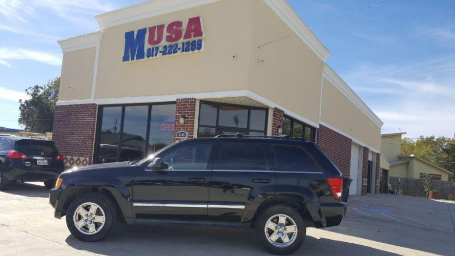 2005 BLACK /Gray JEEP GRAND CHEROKEE LIMITED (1J4HS58N95C) with an 4.7L engine, Automatic transmission, located at 3145 N Beach st, Fort worth, TX, 76111, (817) 222-1289, 32.801109, -97.290657 - Photo #0