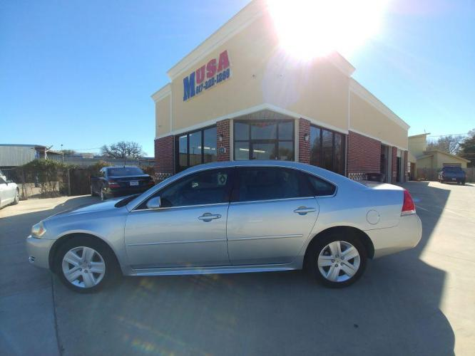 2011 SILVER CHEVROLET IMPALA LS (2G1WA5EK2B1) with an 3.5L engine, Automatic transmission, located at 3145 N Beach st, Fort worth, TX, 76111, (817) 222-1289, 32.801109, -97.290657 - Photo #0
