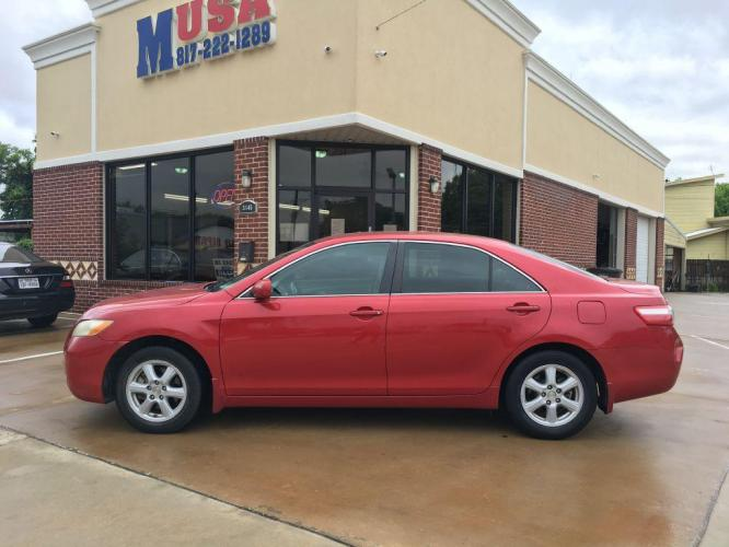 2009 Red TOYOTA CAMRY BASE (4T1BE46K99U) with an 2.4L engine, Automatic transmission, located at 3145 N Beach st, Fort worth, TX, 76111, (817) 222-1289, 32.801109, -97.290657 - Photo #0